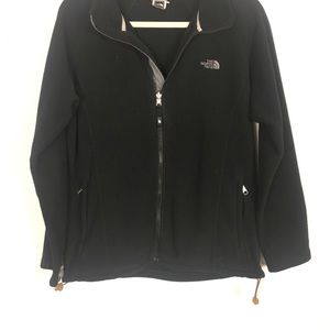The North Face Jackets & Coats - The North Face Black Fleece Zip Up Jacket